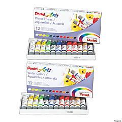 Pentel® Arts™ Water Color Tubes, 24 count