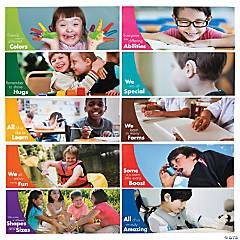 People of Differing Abilities Poster Set