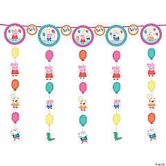 Peppa Pig™ Hanging Swirl Decorations