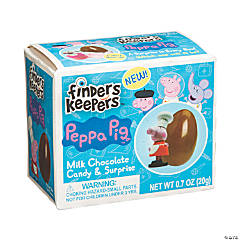 Peppa Pig™ When I Grow Up Finders Keepers™ Chocolate Eggs