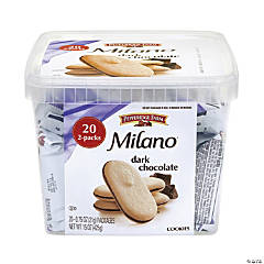 PEPPERIDGE FARMS Milano Dark Chocolate Cookies, 20 Count