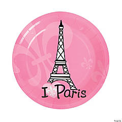 Perfectly Paris Paper Dessert Plates - 8 Ct.