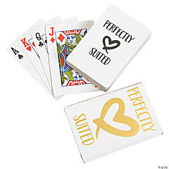 Perfectly Suited Playing Cards
