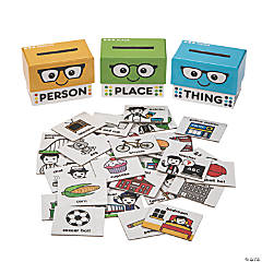 Person, Place or Thing Sorting Boxes