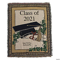 Personalized 2020 Graduation Throw