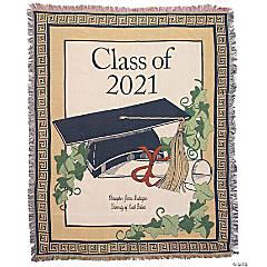 Personalized 2021 Graduation Throw
