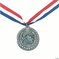 Personalized Academic Silver Medal