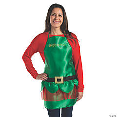 Personalized Adult's Elf Apron