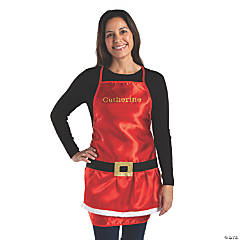 Personalized Adult's Santa Apron