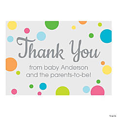 Baby Shower Thank You Cards Oriental Trading Company