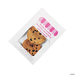 Personalized Bakery Party Treat Bags