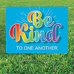 Personalized Be Kind Yard Sign