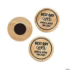 Personalized Best Day Ever Magnets