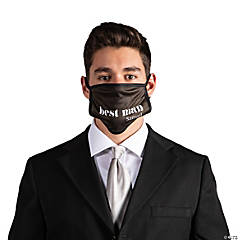 Personalized Best Man Washable Face Mask