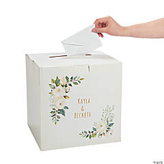 Personalized Bridal Shower Card Box