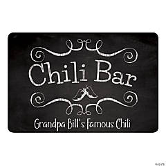 Personalized Chili Bar Sign