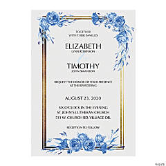 Personalized Chinoiserie Invitations