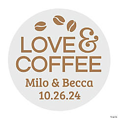 Personalized Coffee Stickers