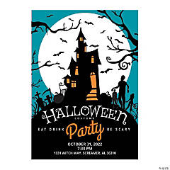 Personalized Costume Party Invitations