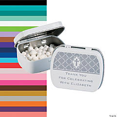Personalized Cross Mint Tins
