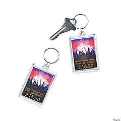 Personalized Dance Party Keychains