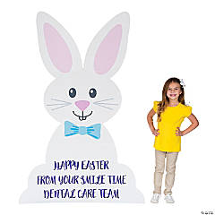 Personalized Easter Bunny Stand-Up