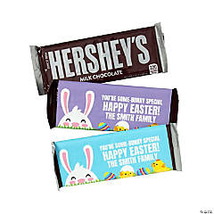 Personalized Easter Candy Bar Sticker Labels