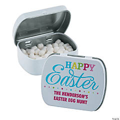 Personalized Easter Mint Tins
