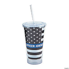 Personalized Everyday Hero Tumbler with Lid & Straw