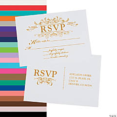 Personalized Fairy Tale Wedding Response Cards