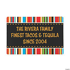 Personalized Fiesta Wooden Sign