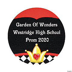 Personalized Garden of Wonders Favor Stickers