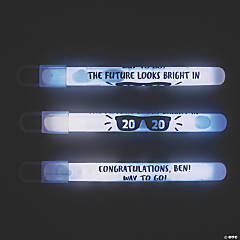 Personalized Graduation Glow Sticks
