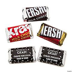 Personalized Graduation Mini Candy Bar Sticker Labels