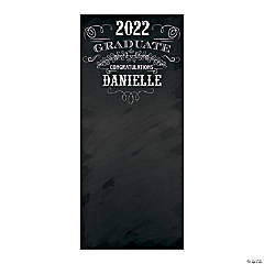 Personalized Graduation Photo Booth Backdrop Banner