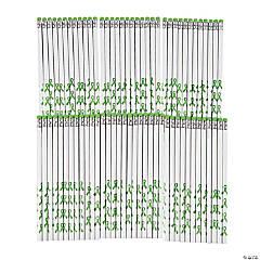 Personalized Green Awareness Ribbon Pencils