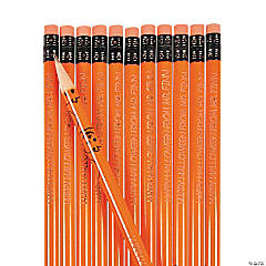 Personalized Halloween Pencils - 24 Pc.