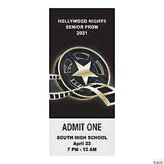 Personalized Hollywood Event Admission Tickets