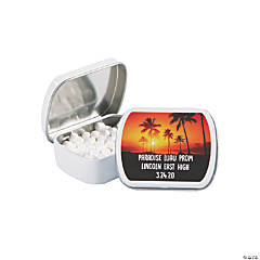 Personalized Island Luau Mint Tins