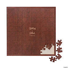 Personalized Jigsaw Puzzle Guest Book