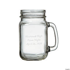 Personalized Mason Jar Mug