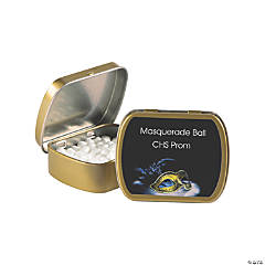 Personalized Masquerade Ball Mint Tins