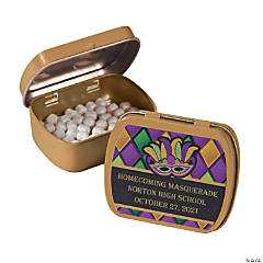 Personalized Masquerade Mint Tins