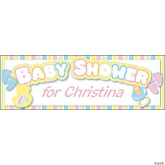 baby shower banners personalized baby shower banners baby shower
