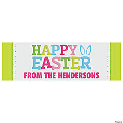 Personalized Medium Easter Banner