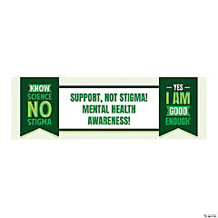 Personalized Medium Mental Health Awareness Vinyl Banner