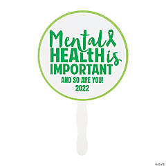 Personalized Mental Health Awareness Hand Fans