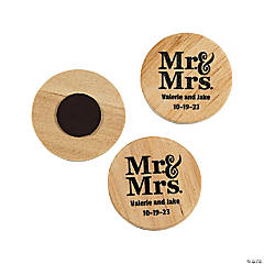 Personalized Mr. & Mrs. Magnets