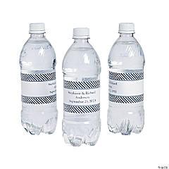 Personalized Nautical Wedding Bottle Labels