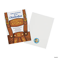 Personalized Oktoberfest Invitations